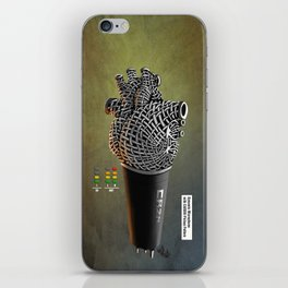 CRZN Dynamic Microphone - 003 iPhone Skin