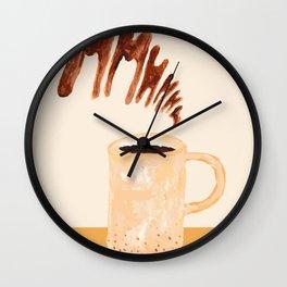 Goood Mooorning Wall Clock