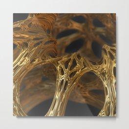 Golden Syrup Metal Print