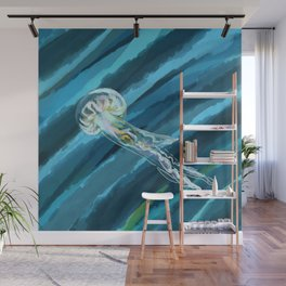Dreamy Jellyfish Woes Wall Mural