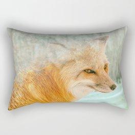 Spirit Fox Rectangular Pillow