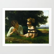 Temptation (revisited) Art Print