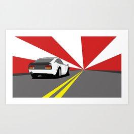 Datsun S30 240Z Art Print