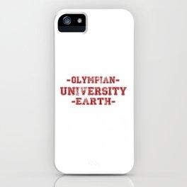 O.U.E iPhone Case