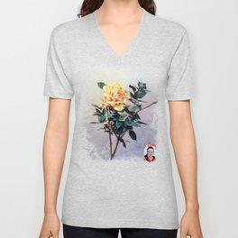 Rosa/Rose Unisex V-Neck