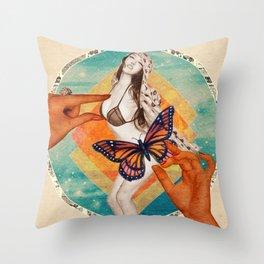 Sensasian I: Possess Throw Pillow