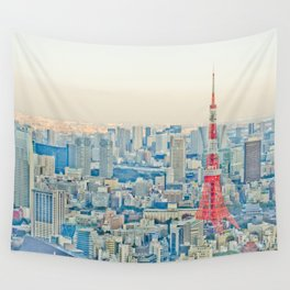 Tokyo tower Wall Tapestry