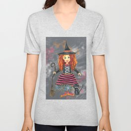 Zelda the Good Witch Unisex V-Neck