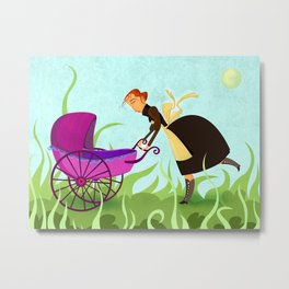 The Mom Metal Print