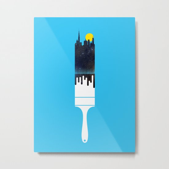 Paint the Town Metal Print
