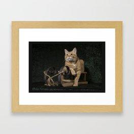 """Loki's """"Rosebud"""" Framed Art Print"""