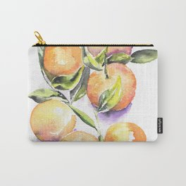 Sweet Clementines Carry-All Pouch
