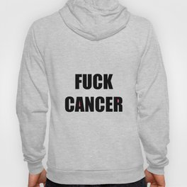 Fuck Cancer Green Background Hoody