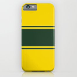 Racing inspired iPhone Case