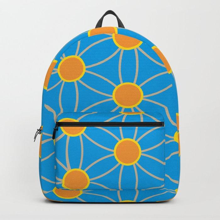 Fleur De Vie été Backpack By Rosaleedesign