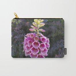 Gloves in summer!  Foxglove, Digitalis purpurea Carry-All Pouch