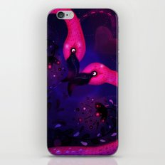 Flamingo Love iPhone & iPod Skin
