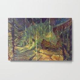 """""""Fantasy Woods"""" Metal Print"""