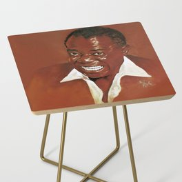 Louis Armstrong Side Table