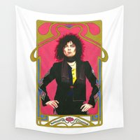 marc Wall Tapestries featuring Marc Bolan by Saoirse Mc Dermott