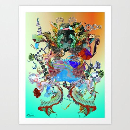 Endless Rhythms Art Print