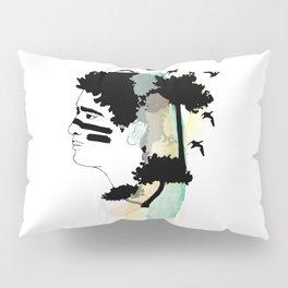 Lost Boy Watercolor Pillow Sham