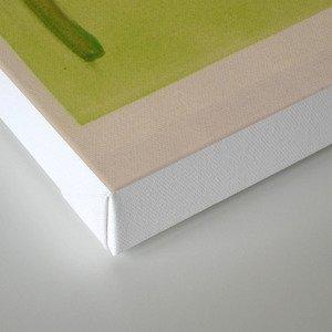 Lime Lady Canvas Print