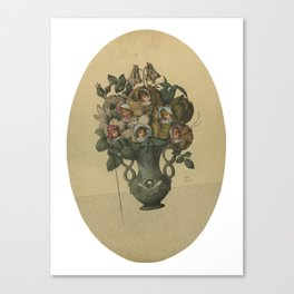 Crooked Bouquet Canvas Print