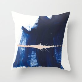 brush strokes 4 Throw Pillow