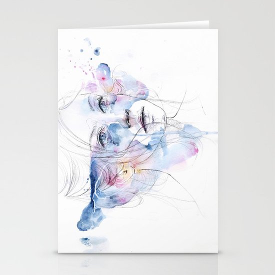 water show Stationery Cards