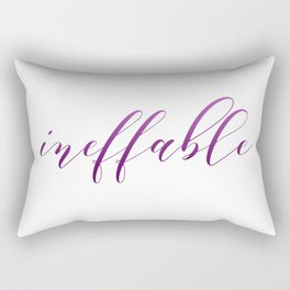 Ace Pride - Ineffable Rectangular Pillow