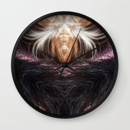 The Black Witch Is Back! Wall Clock