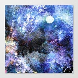 Winter Night Orchard Canvas Print
