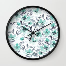 Espirit Mint  Wall Clock