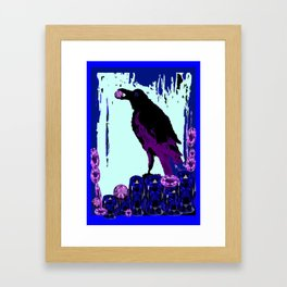 Master Jewel Thief of Sapphires & Amethysts  Framed Art Print