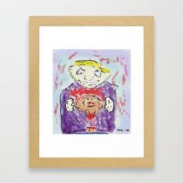 Corp Maggot Framed Art Print