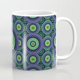 Back to 70's, blue & green Coffee Mug
