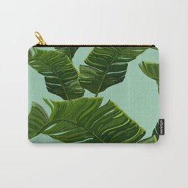 Hawaii Palm Tree Leaves Carry-All Pouch