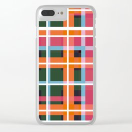 Geometric Shape 05 Clear iPhone Case