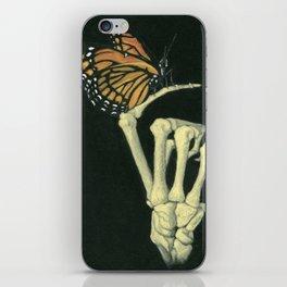 Butterfly & Bones iPhone Skin