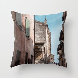 Italian roads Throw Pillow