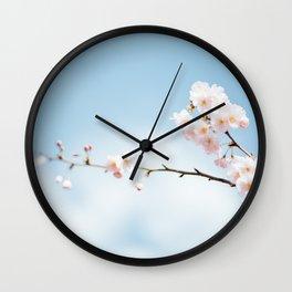 Cherry flower Wall Clock