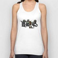 how to train your dragon Tank Tops featuring How to Train Your Dinosaur by Jeremy Kohrs