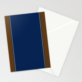 Blue and Brown Case Stationery Cards