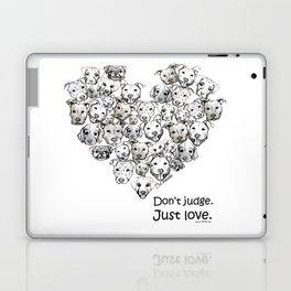 Just Love. (black text) Laptop & iPad Skin