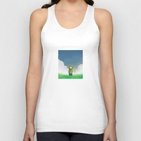 relax Tank Tops featuring Relax by Janko Illustration