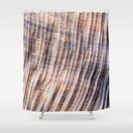 Shar-Pei Driftwood Shower Curtain