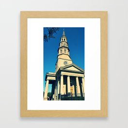 Old Church Framed Art Print