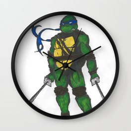 Ninja Turtles Leo Wall Clock