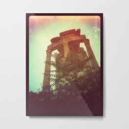 The Temple Metal Print